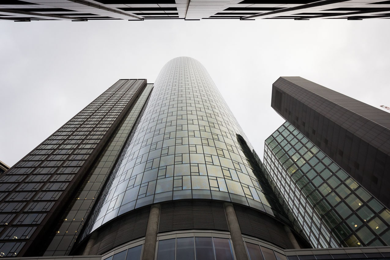 Maintower in Frankfurt, mrakodrapy ve Frankfurtu