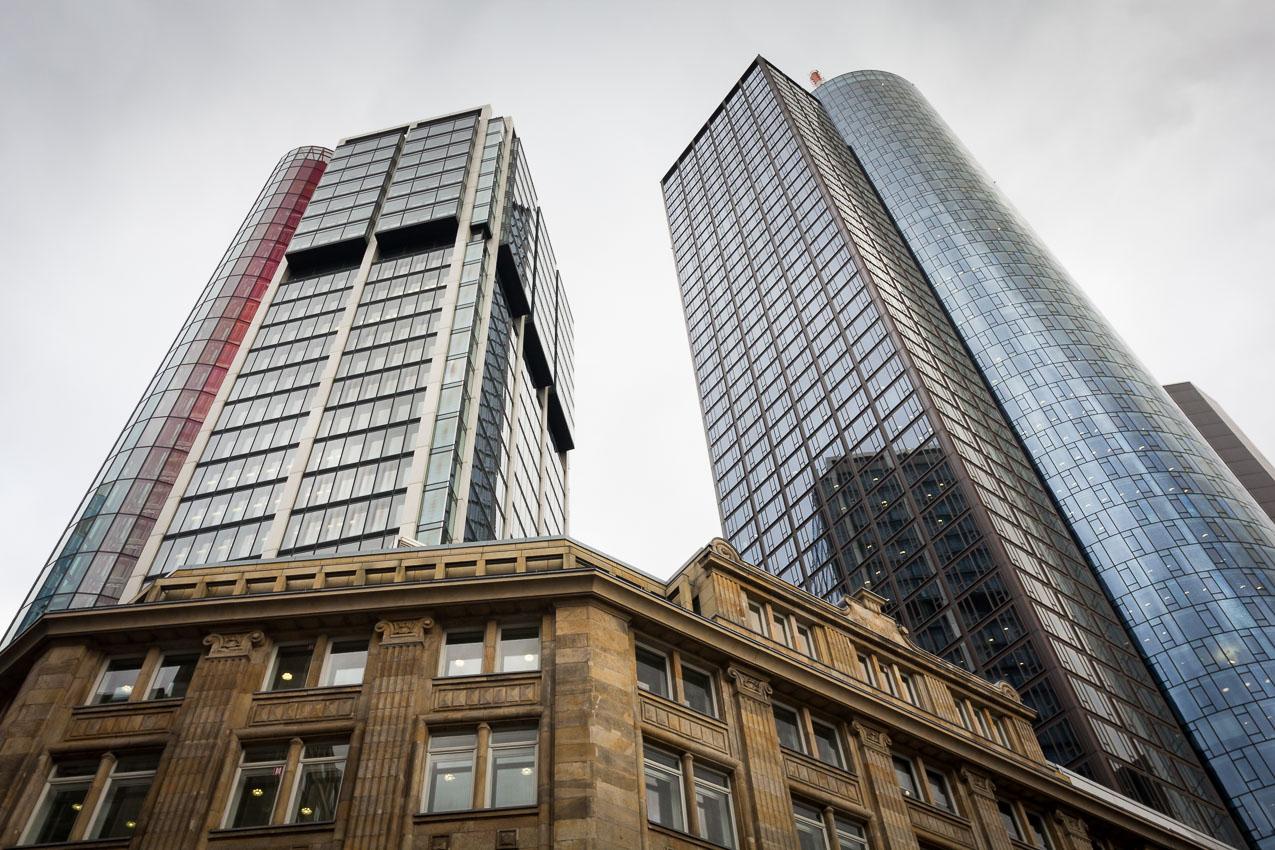 Eurotheum & Maintower, mrakodrapy ve Frankfurtu