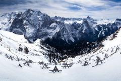 Marmolada z Belvedere, Dolomity